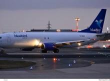 Bluebird Nordic, Boeing 737-400(F) TF-BBM (SXF 3.4.2020)