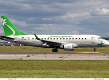 Jasmin Airways, Embraer 170 TS-IJB (SXF 30.5.2020)