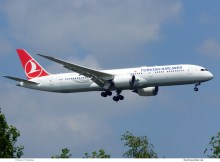 Turkish Airlines, Boeing 787-9 Dreamliner TC-LLB (TXL 25.6.2020)