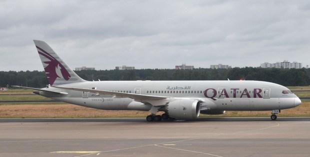 Qatar Airways, Boeing 787-8 Dreamliner A7-BCK (TXL 1.7.2020)