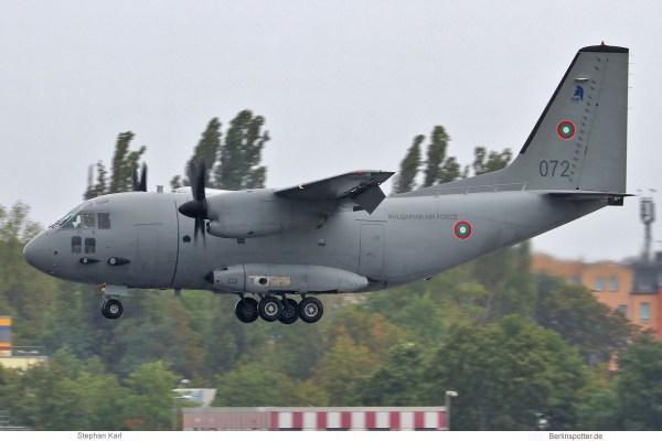 Bulgarian Air Force, Alenia C-27 J Spartan '072' (TXL 26.8.2020)