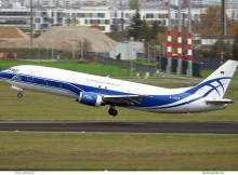 CargoLogic Germany, Boeing 737-400(SF) D-ACLW (BER 19.11.2020)