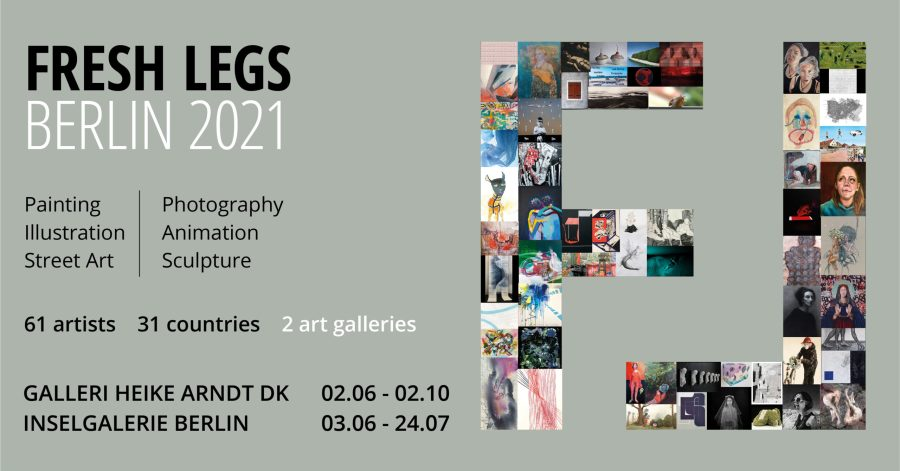Fresh Legs 2021 Website Front page Banner