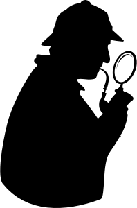 DooFi_Consulting_detective_with_pipe_and_magnifying_glass_silhouette_