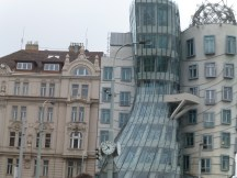 Possibly Prague's only modern building.