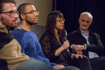 Marc Johnson, Joanna Arnow and Christian Bau