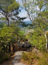 Hiking Up Pfaffenstein