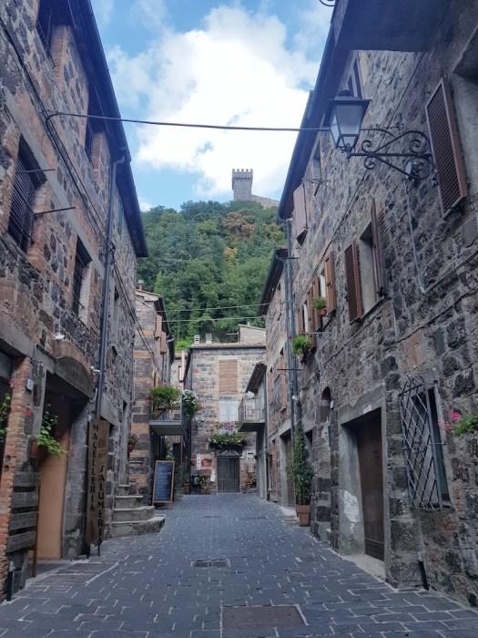 Via Francigena pilgrimage Radicofani
