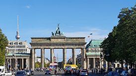Berlin Mitte Tiergarten Brandenburger Tor