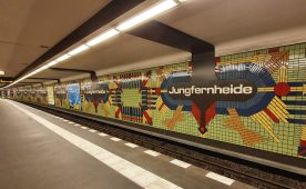 Berlin BVG U-Bahn Jungfernheide