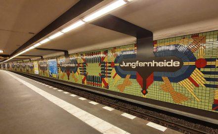 Berlin U-Bahn Jungfernheide