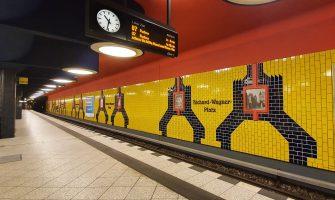 Berlin BVG U-Bahn Richard-Wagner-Platz