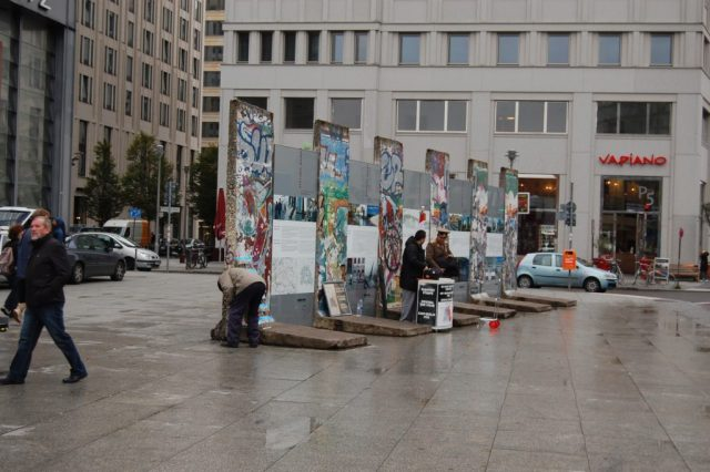 Berlinmurens historie Potsdamerplatz