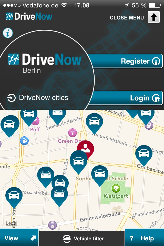 Drive Now Car Sharing I Berlin Berlinblogdk