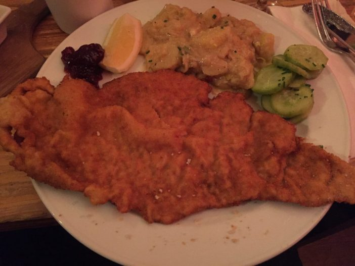 Hvor finder du en god Wienerschnitzel i Berlin?