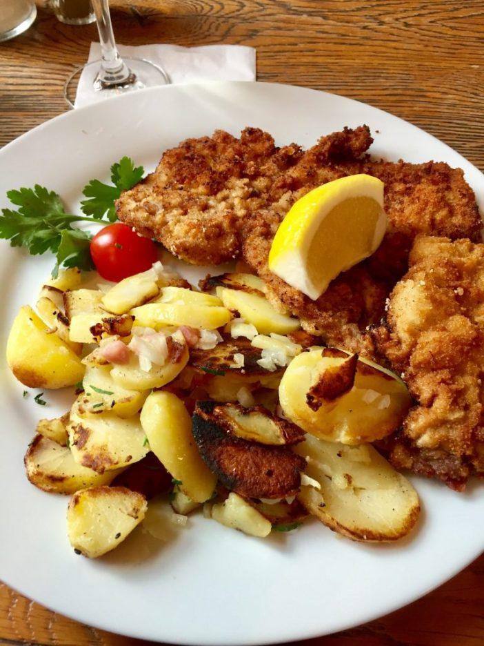 Hvor finder du en god Wienerschnitzel i Berlin?