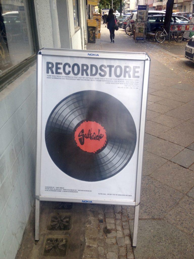 Soultrade - pladebutikker i Berlin