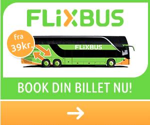 Med bus til Berlin - Flixbus kampagne