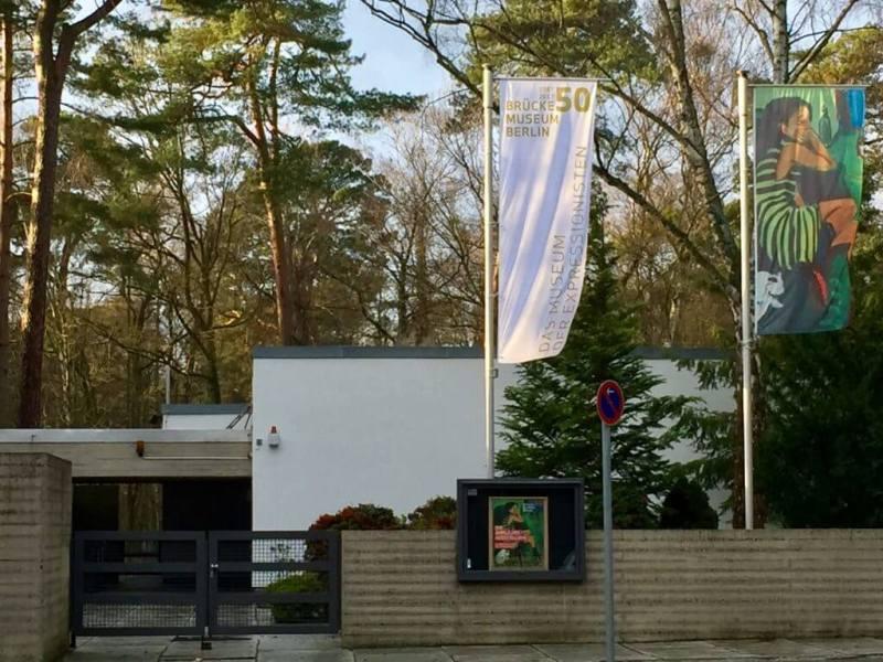 Brücke-Museum og Kunsthaus Dahlem