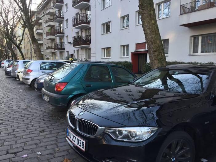 Tur til Berlin - I bil til Berlin miljømærke parkering