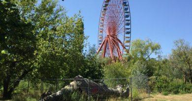 Spreepark den forladte forlystelsespark i Berlin