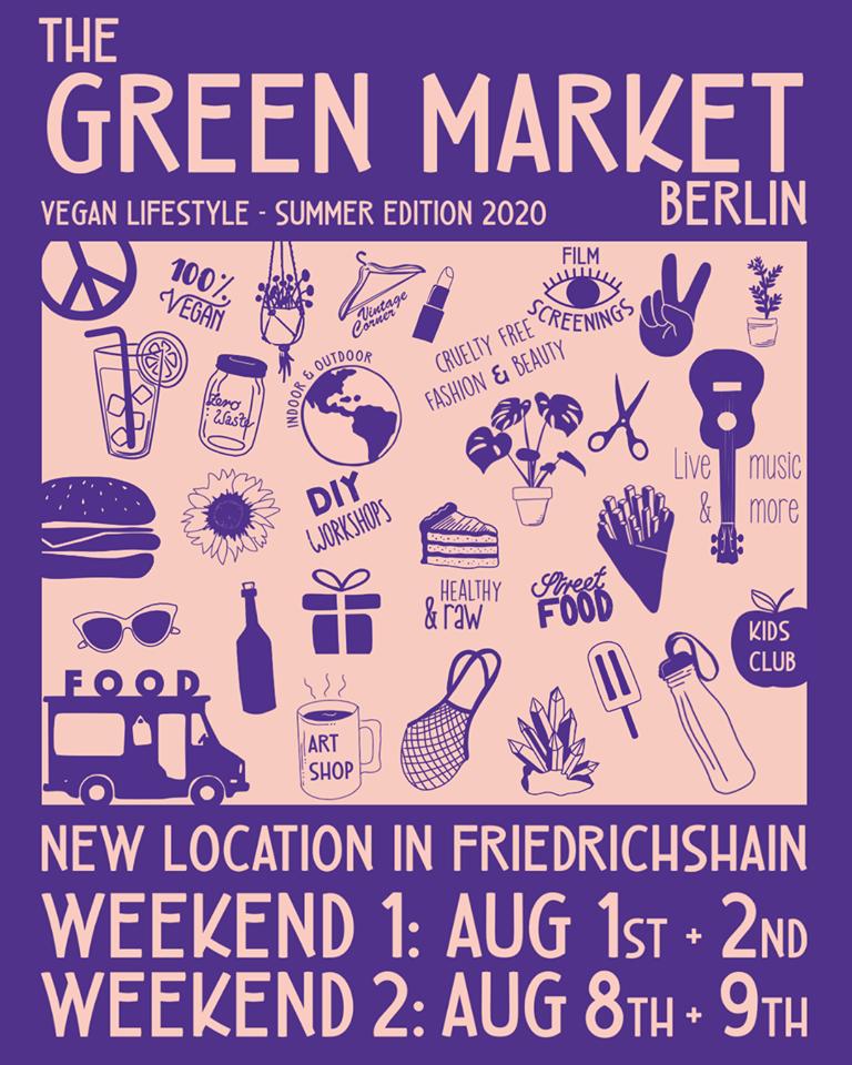 Green Market Berlin vegan market