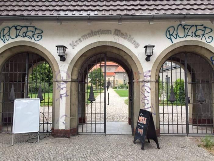 Fra krematorie til kulturkvarter. Krematorium Wedding og Mars Küche & Bar