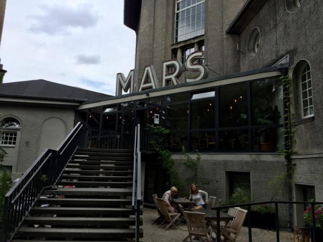 Fra krematorie til kulturkvarter. Mars Küche & Bar
