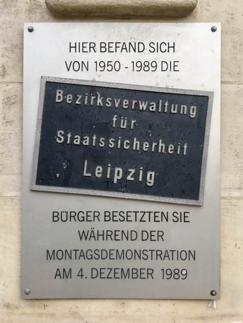 Stasis hovedkvarter Leipzig