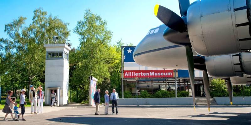 Alliierten Museum Pressefoto - 2. verdenskrigs afslutning