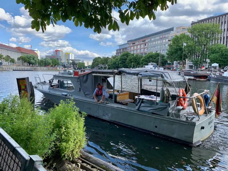 Grenzboot G42 på Spree