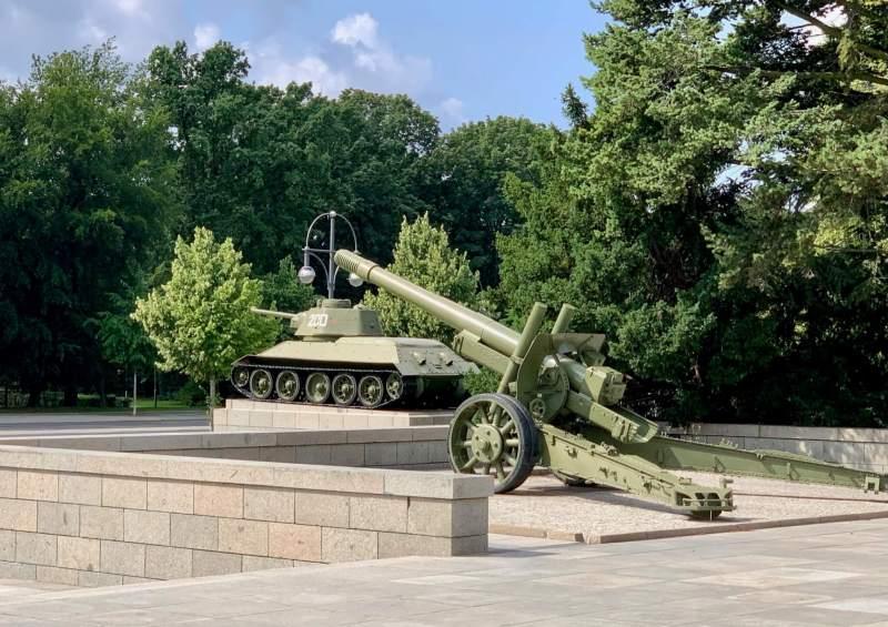 Sovjetiske mindesmærke Tiergarten Berlin