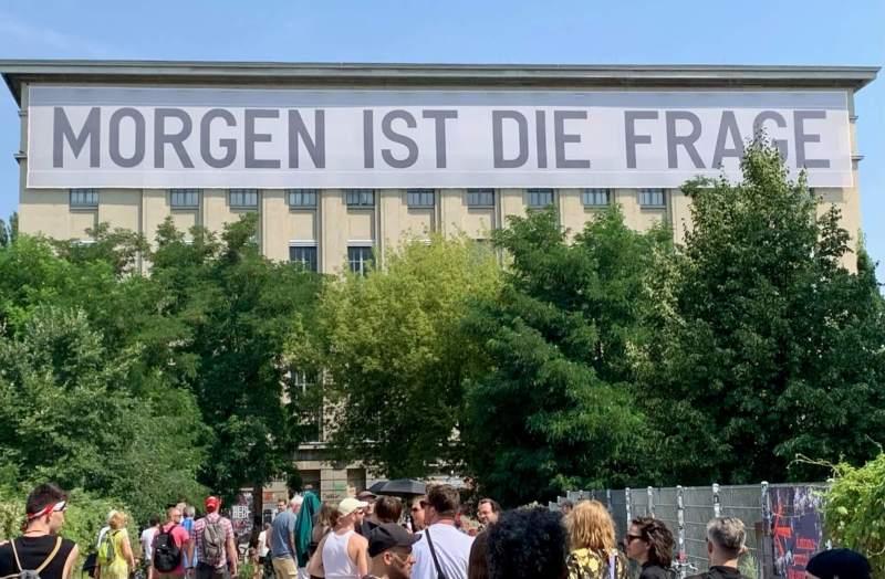 Morgen ist die Frage Berghain og Studio Berlin