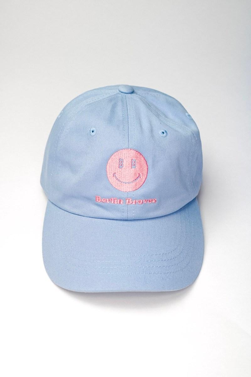 baby blue dad hat