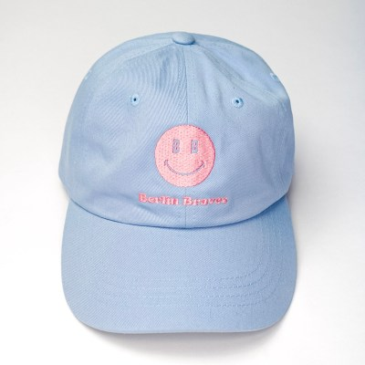 baby blue dad hat