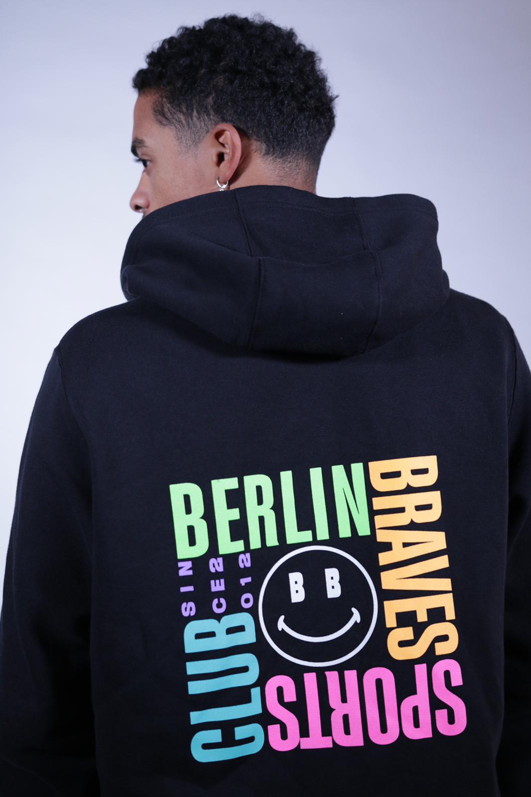 Berlin Braves loves you zip hoodie
