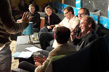 Sophie Ihle, Barbara Meerkötter, Alexander Schuhmacher, Jochen Meißner, Tom Heithoff, Dominik Stein (v.l.n.r) Foto: Jens Albrecht