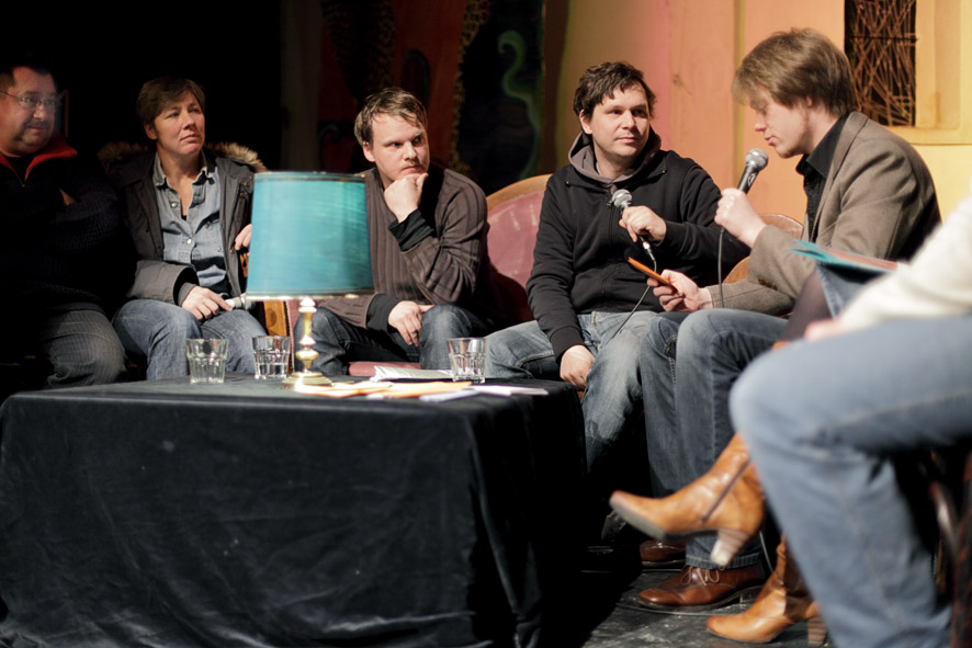 W. Rindfleisch, B. Andres, Sven Ihlenfeld + Tilman Schmidt (Propellersound), M. Fersch (Foto: Jens Albrecht)
