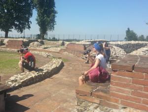 Archäologische Grabungsstätte aus dem 1. Jahrhundert.
