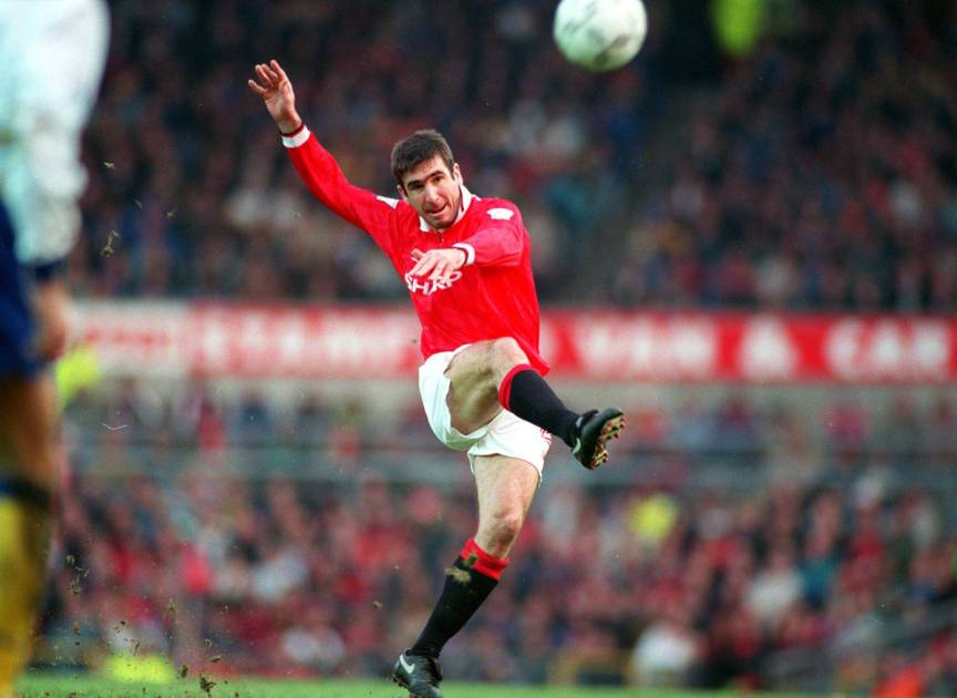 In soccer, the most iconic shirt is arguably the number 10. Eric Cantona, der König von Manchester