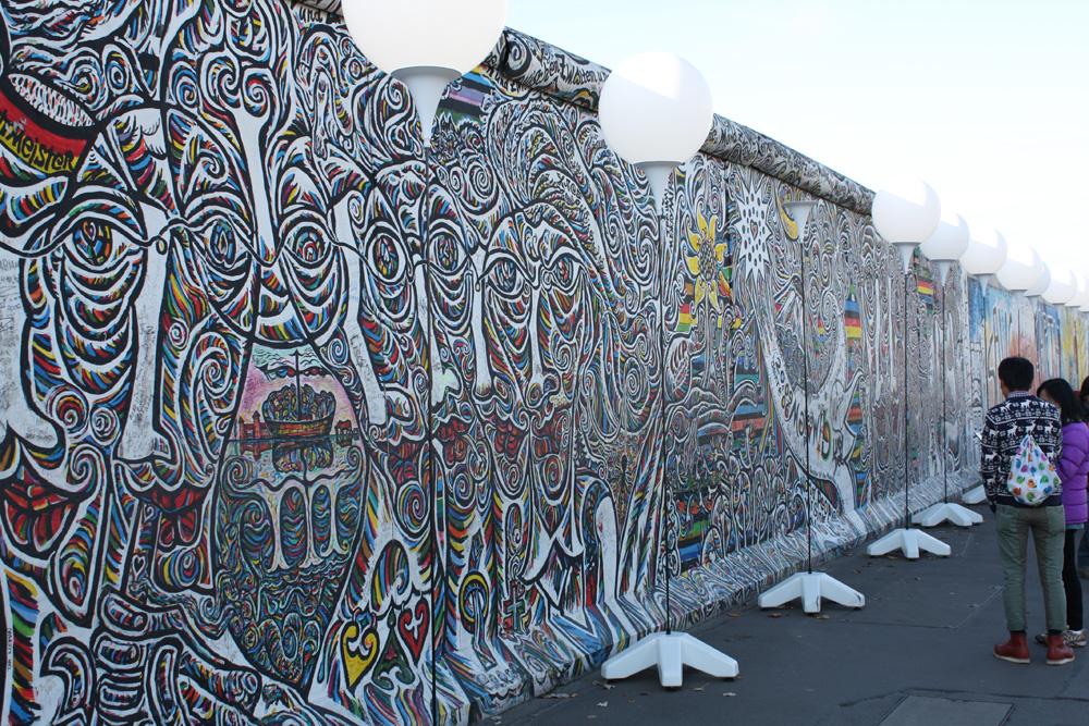 Berlinerblog.dk - Eastside Gallery Berlin