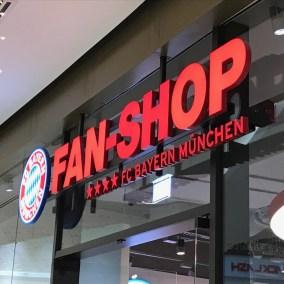 Berlinerblog.dk - FC Baýern Fanshop Mall Of Berlin