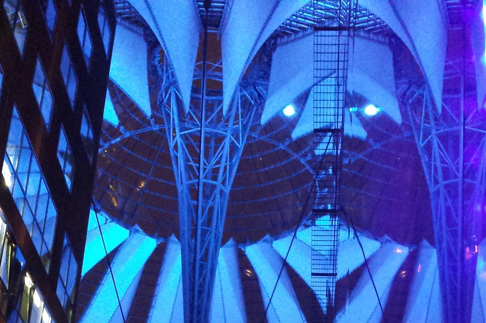 Sony Center på Potsdamer Plats