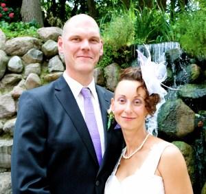 Ehepaar im Burghotel Strausberg