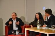 Alan Posener, Irena Brezna und Max Neufeind