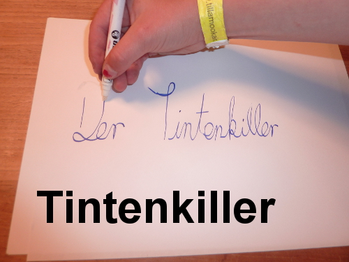 Militaristic German words: Tintenkiller