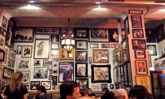 Plenty of photos on the walls