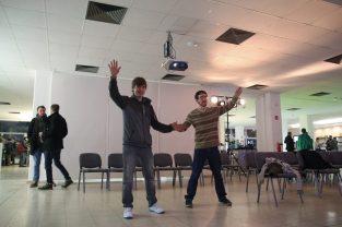 More KinectMagic by Tobias Wehrum. Picture by Julian Dasgupta (@spunior) – www.dippy-weasel.com