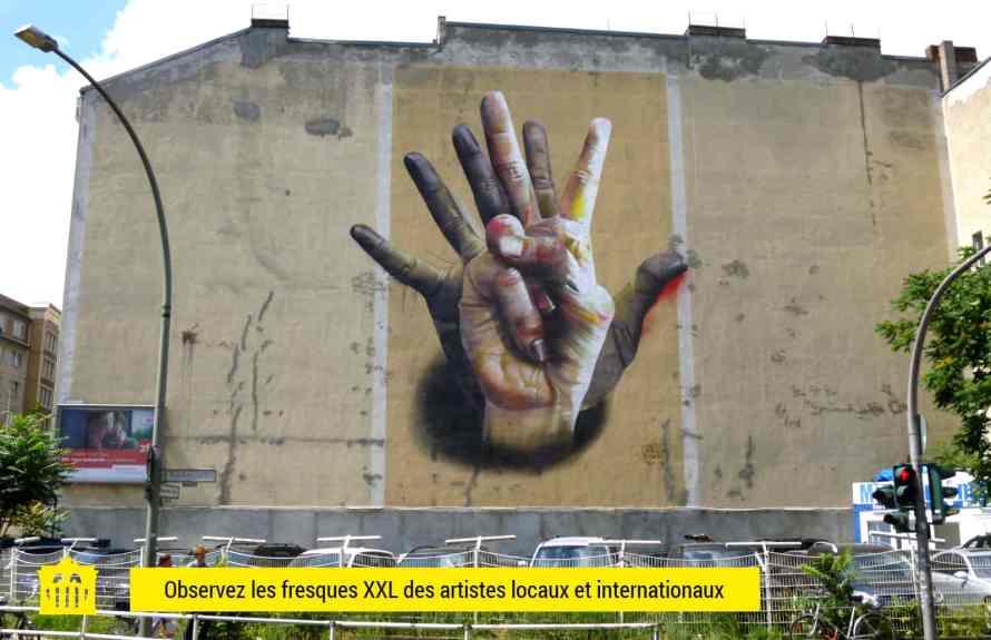 Berlin visite guidee street art