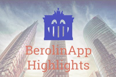 Self guided walking tour Berlin BerolinApp Highlights